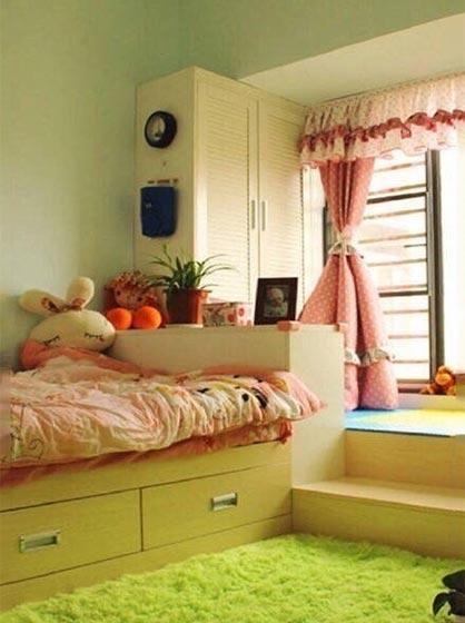 日式小户型儿童房参考图