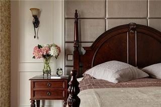 160平美式小复式床头柜图片
