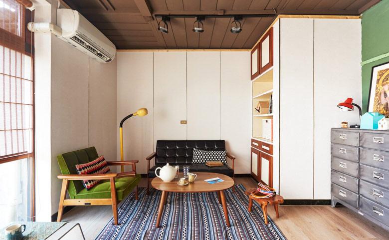 温馨简约日式客厅装饰效果图