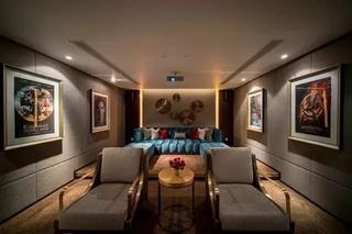 300平米别墅装修家庭影音室设计