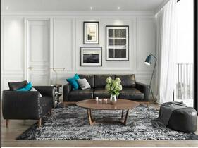 北欧风格公寓装修图 轻松自由的空间感
