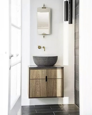 简约风格浴室柜图片