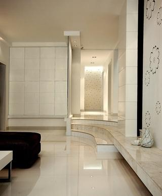 简约风格婚房装修客厅地板装修