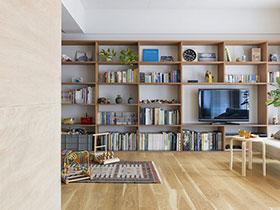 日式风格两室一厅装修 简约清新禅意家