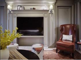 美式风格三居室装修 精雕细琢的设计