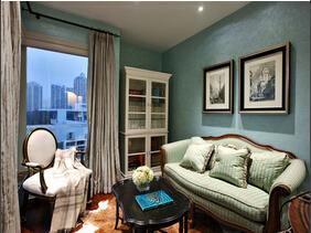 充满艺术气息的家 美式风格豪华别墅装修