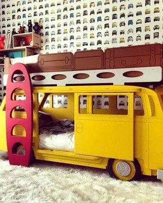 儿童房可爱儿童床图片