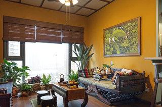 46平一居室客厅效果图