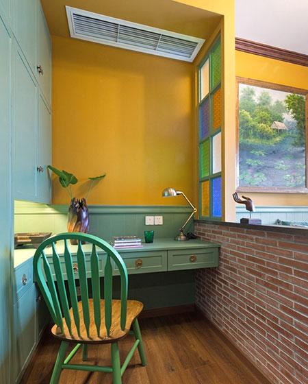 46平一居室书房效果图装修
