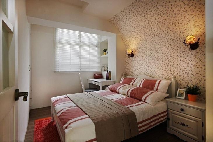 80平旧房改造装修卧室装修