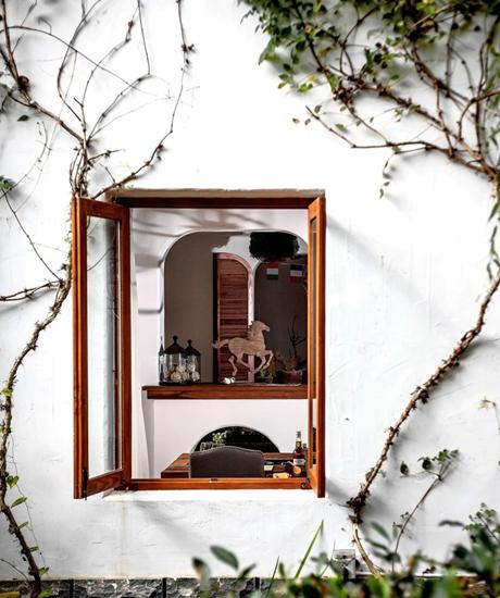 艺术北欧田园风 小公寓外墙窗户设计