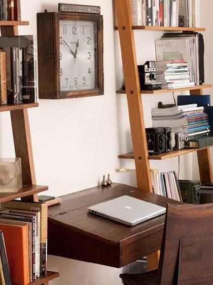 简易书桌装修装饰效果图