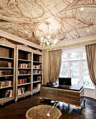 书房另类吊顶装修装饰