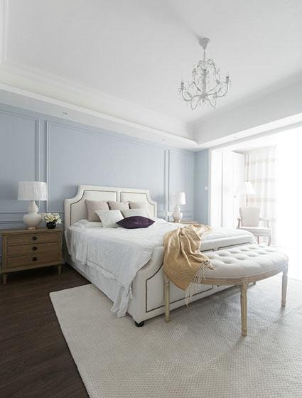130平米简美两居室卧室图