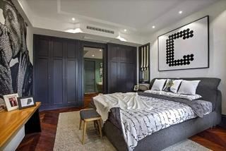简约风格三房两厅装修卧室衣柜设计