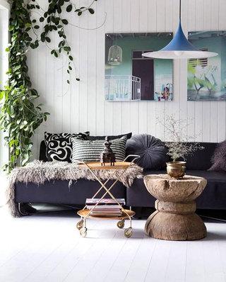 舒适客厅沙发摆放图片