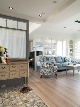 130㎡简美两居室装修装饰效果图