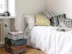 给出租屋加个惊喜  10个创意床头柜设计图