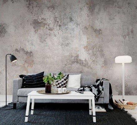 客厅手绘背景墙设计布置图