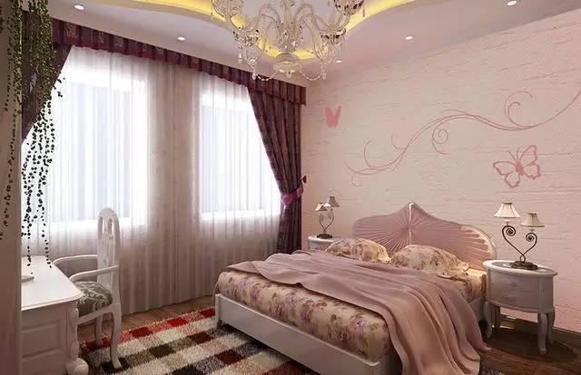 硅藻泥卧室装修效果图,还在为不够浪漫舒适烦恼吗?
