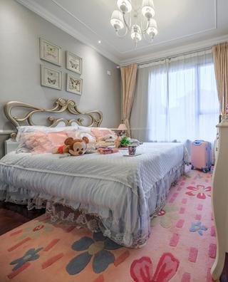 华丽低奢美式儿童房效果图