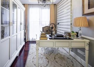 美式风格四室两厅装修书房设计装修图
