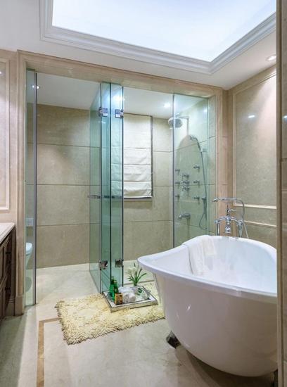 美式风格三居室装修淋浴房装修