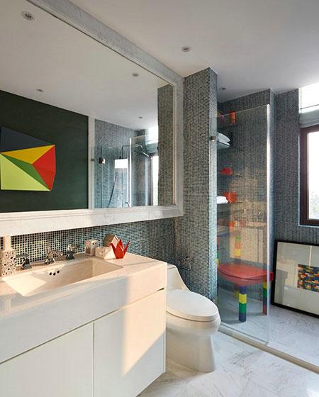 简约风格联排别墅主卫生间设计