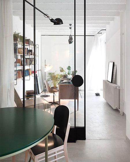 公寓旧房改造餐厅隔断设计图
