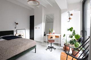 舒适简洁北欧风卧室实景图