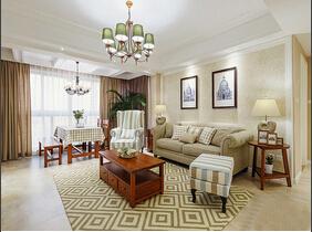 超美的三居室装修 最爱的美式风格