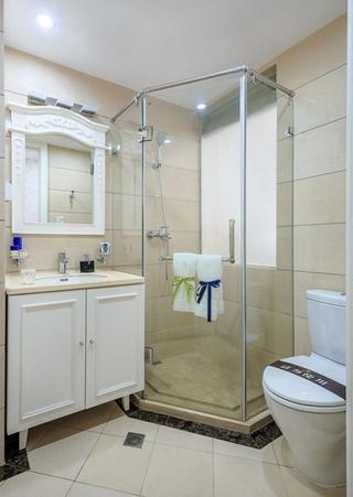 精致大户型装修 浪漫法式装修风格展示卫生间效果图