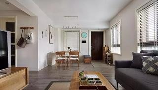 旧房翻新完美蜕变 时尚感充满每个角落客厅效果图