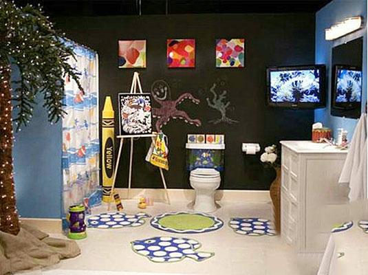 儿童卫生间装修布置图