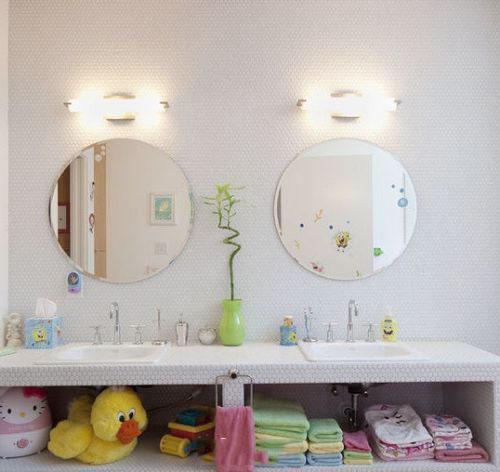 儿童卫生间装修效果图