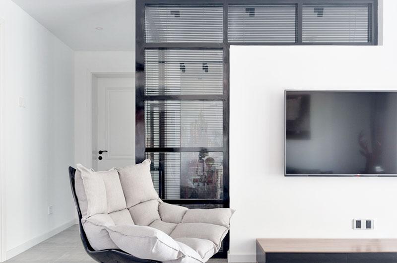 108平北欧风格电视背景墙装修