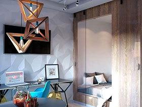 30平小户型单身公寓装修 小空间照样精彩