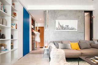 40平现代简约风格一居室装修