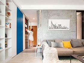 40平现代简约风格一居室装修 精致生活