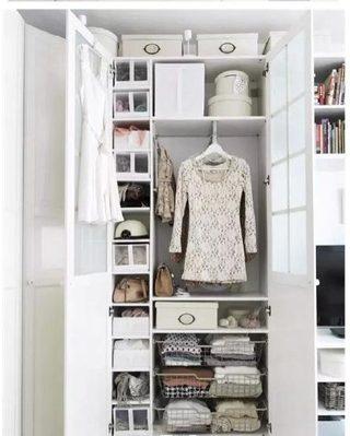 衣柜收纳设计平面图片