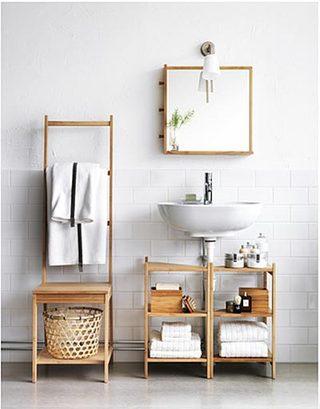 浴室柜布置装修图片大全