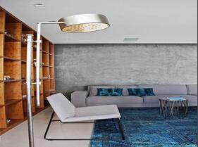 很有现代感的空间设计 新锐设计师打造118平品质三居
