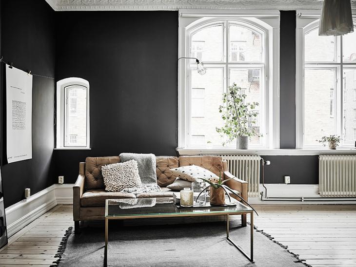 环保与极简风融合 打造最个性的三居室装修北欧风客厅