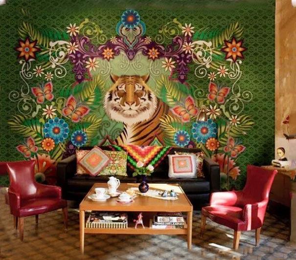 客厅背景墙装修效果图片