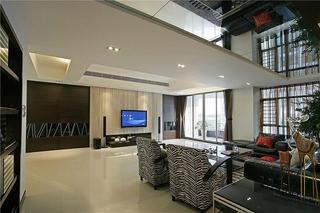 简约风格三居室装修 宜居&时尚的效果简约客厅效果图
