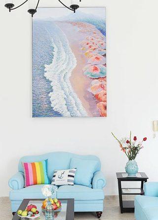 200㎡地中海复式沙发图片