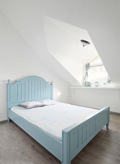 200㎡地中海复式卧室效果图