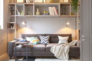 50平小公寓客厅效果图