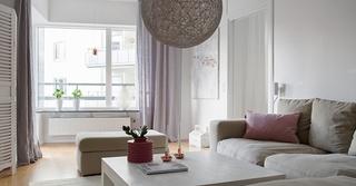 北欧风格三居室客厅效果图大全