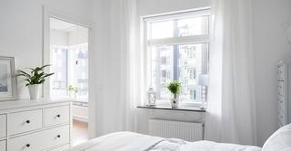 北欧风格三居室卧室效果图